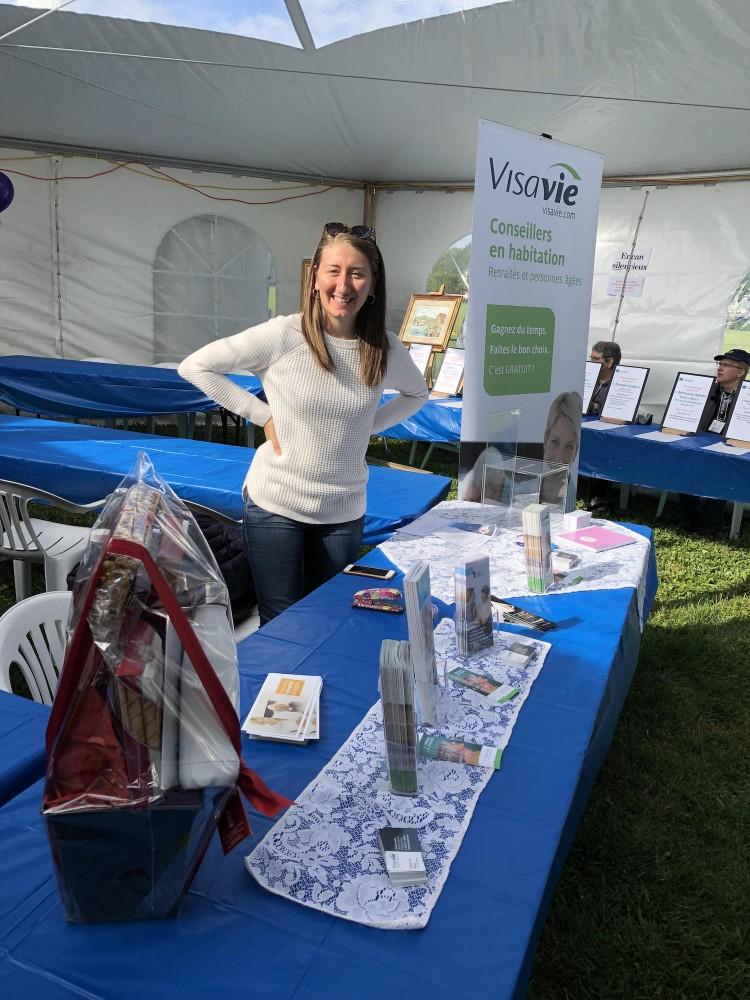 Visavie était présent au Parcours Parkinson Région de Québec et Chaudière-Appalaches