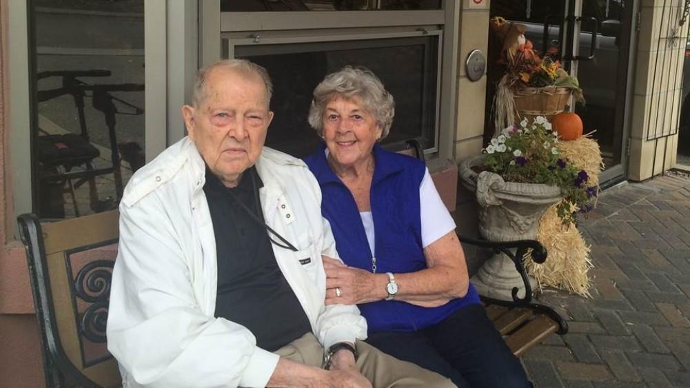 L'amour des Campbell en résidence pour personnes âgées