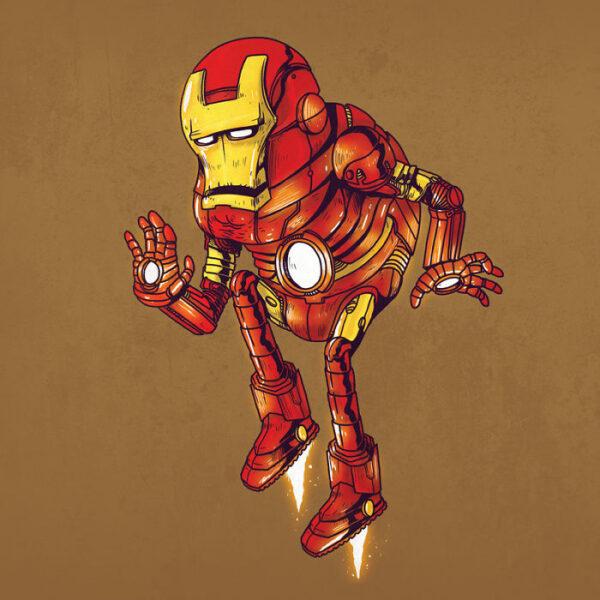 Iron Man plus vieux