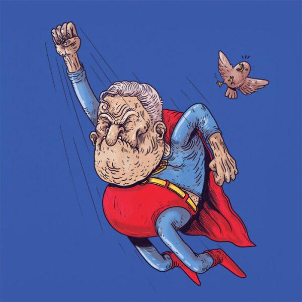 Superman plus vieux