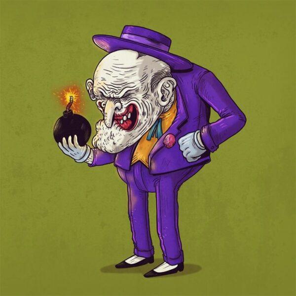 Le Joker plus vieux