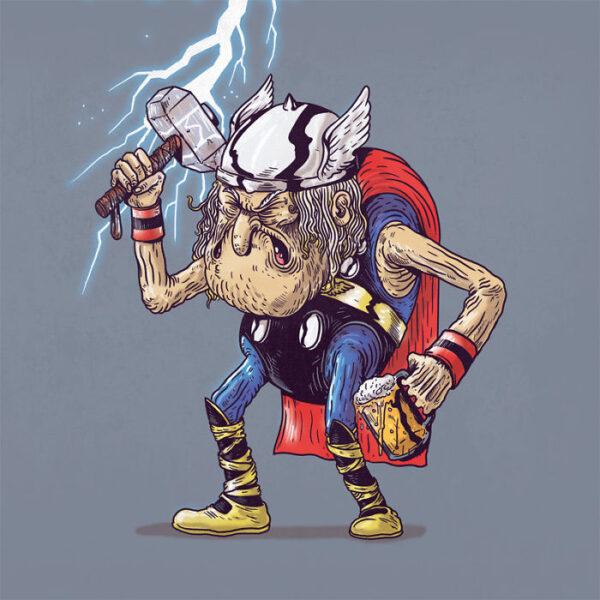 Thor plus vieux