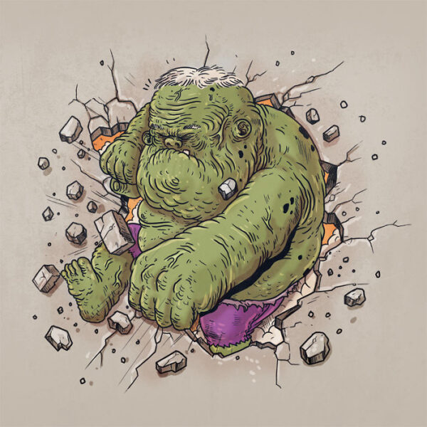 Hulk plus vieux