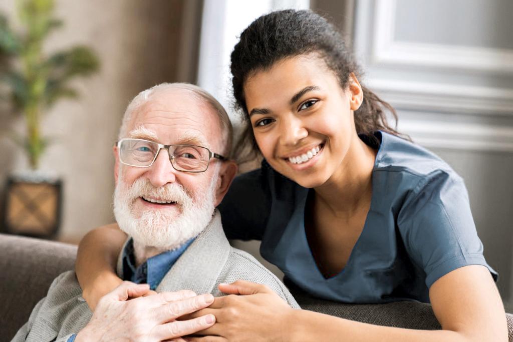 Aide à l'hygiène pour aînés
