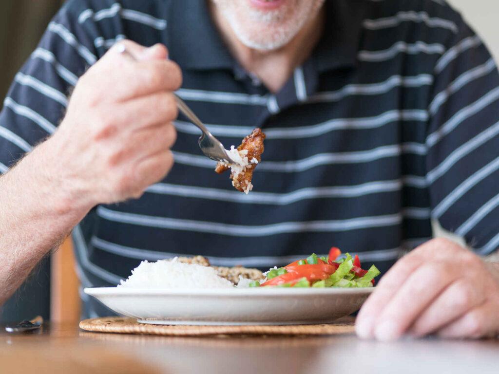 Planification et la préparation des repas pour personnes âgés
