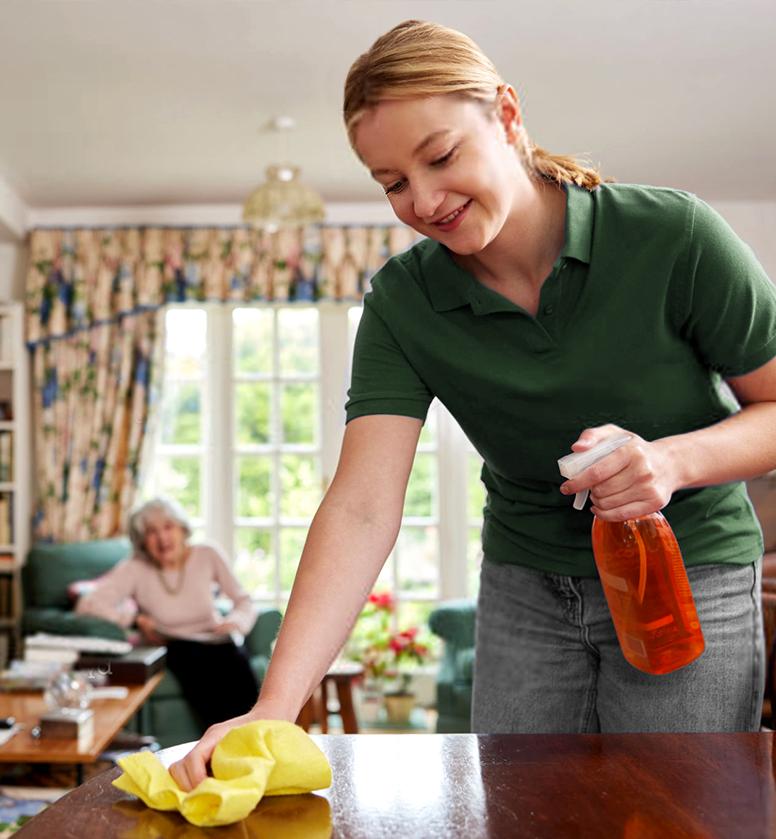 Aide à domicile tâches du quotidien