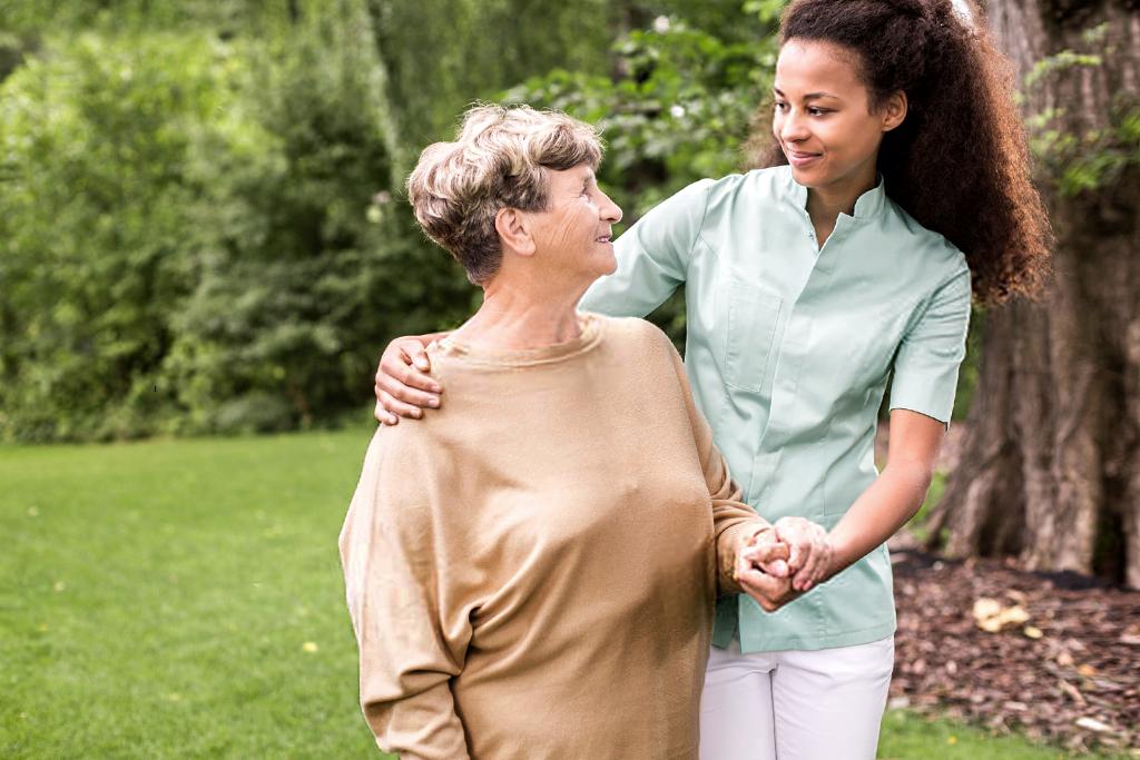 Une présence bienveillante pour personnes âgées
