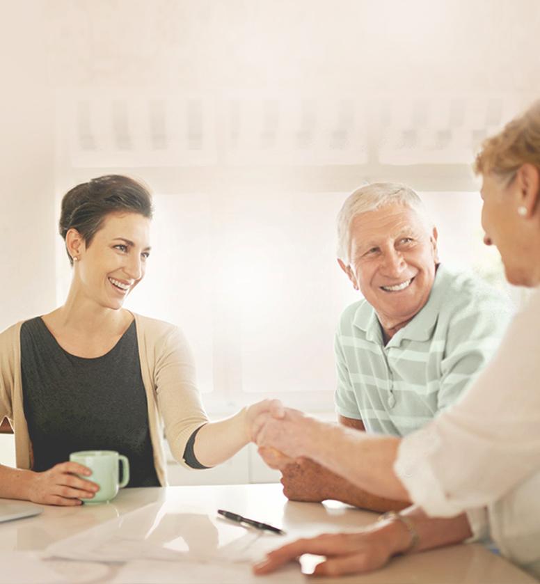 La présentation d'une première sélection de résidences pour personnes âgées
