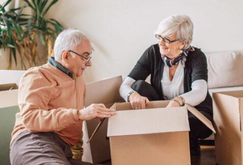 transition vers une résidence pour aînés